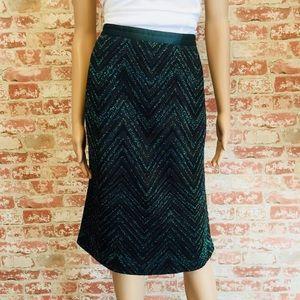 Missoni Chevron Skirt, size 10 (46)